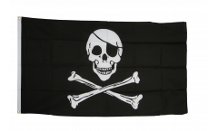Flagge Pirat Skull and Bones - 90 x 150 cm