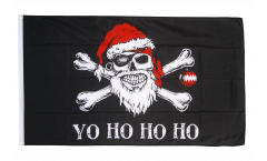 Flagge Pirat Yo ho ho - 90 x 150 cm