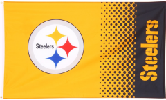 Flagge NFL Pittsburgh Steelers Fan - 90 x 150 cm