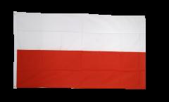 Flagge Polen, genäht - 270 x 450 cm