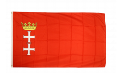 Flagge Polen Danzig - 90 x 150 cm