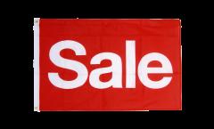 Flagge Sale rot - 60 x 90 cm