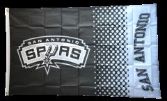 Flagge NBA San Antonio Spurs - 90 x 150 cm
