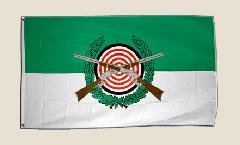 Flagge Schützenfest mit Emblem