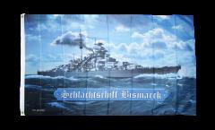Flagge Schlachtschiff Bismarck - 90 x 150 cm