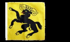 Flagge Schweiz Kanton Schaffhausen - 30 x 30 cm