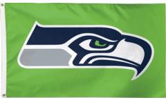 Flagge NFL Seattle Seahawks Green - 90 x 150 cm