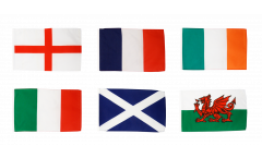 Flagge Six Nations Turnier