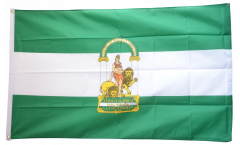 Flagge Spanien Andalusien