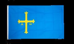 Flagge Spanien Asturien