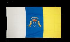 Flagge Spanien Kanaren