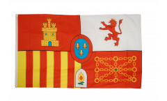 Flagge Spanien Royal
