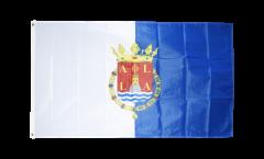 Flagge Spanien Stadt Alicante