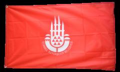 Flagge Türkei Istanbul - 90 x 150 cm