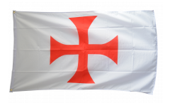 Flagge Templerkreuz - 90 x 150 cm