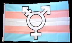 Flagge Transgender Pride Symbol - 90 x 150 cm