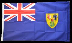 Flagge Turks- und Caicosinseln