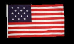 Flagge USA 15 Sterne - 90 x 150 cm