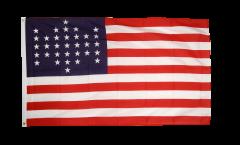 Flagge USA 33 Sterne - 90 x 150 cm