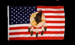Flagge USA Adler Dreamcatcher - 90 x 150 cm