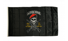 Flagge USA Airborne Mess with the best - 90 x 150 cm