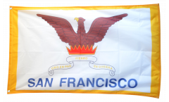 Flagge USA City of San Francisco