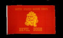 Flagge USA Devil Dogs - 90 x 150 cm