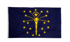 Flagge USA Indiana
