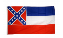 Flagge USA Mississippi - 90 x 150 cm