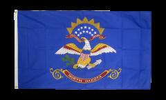 Flagge USA North Dakota - 90 x 150 cm