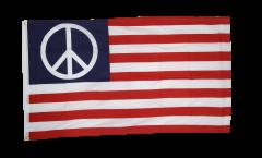 Flagge USA PEACE - 90 x 150 cm