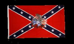 Flagge USA Südstaaten Born to be free - 90 x 150 cm