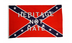 Flagge USA Südstaaten Heritage not Hate - 90 x 150 cm