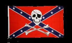 Flagge USA Südstaaten Pirat