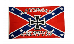 Flagge USA Südstaaten Southern Choppers - 90 x 150 cm