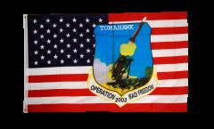 Flagge USA Tomahawk - 90 x 150 cm