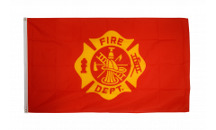 Flagge USA US Fire Department - 90 x 150 cm