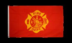 Flagge USA US Fire Department - 90 x 150 cm