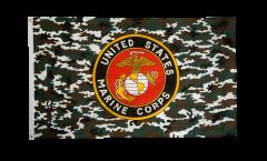 Flagge USA US Marine Corps Camouflage - 90 x 150 cm