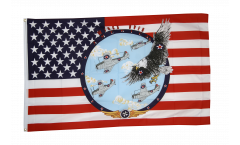 Flagge USA Winds over - 90 x 150 cm