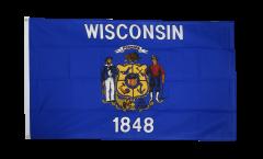 Flagge USA Wisconsin - 90 x 150 cm