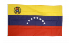 Flagge Venezuela 8 Sterne mit Wappen