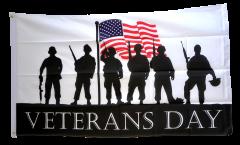 Flagge Veterans Day - 90 x 150 cm