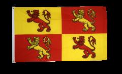 Flagge Wales Royal Owain Glyndwr