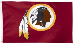 Flagge NFL Washington Redskins - 90 x 150 cm