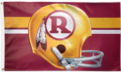 Flagge NFL Washington Redskins Helmet - 90 x 150 cm