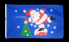 Flagge Weihnachtsmann HoHoHo