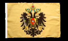 Flagge mit Hohlsaum Österreich-Ungarn 1815-1915