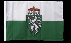 Flagge mit Hohlsaum Österreich Steiermark