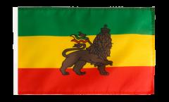 Flagge mit Hohlsaum Äthiopien alt